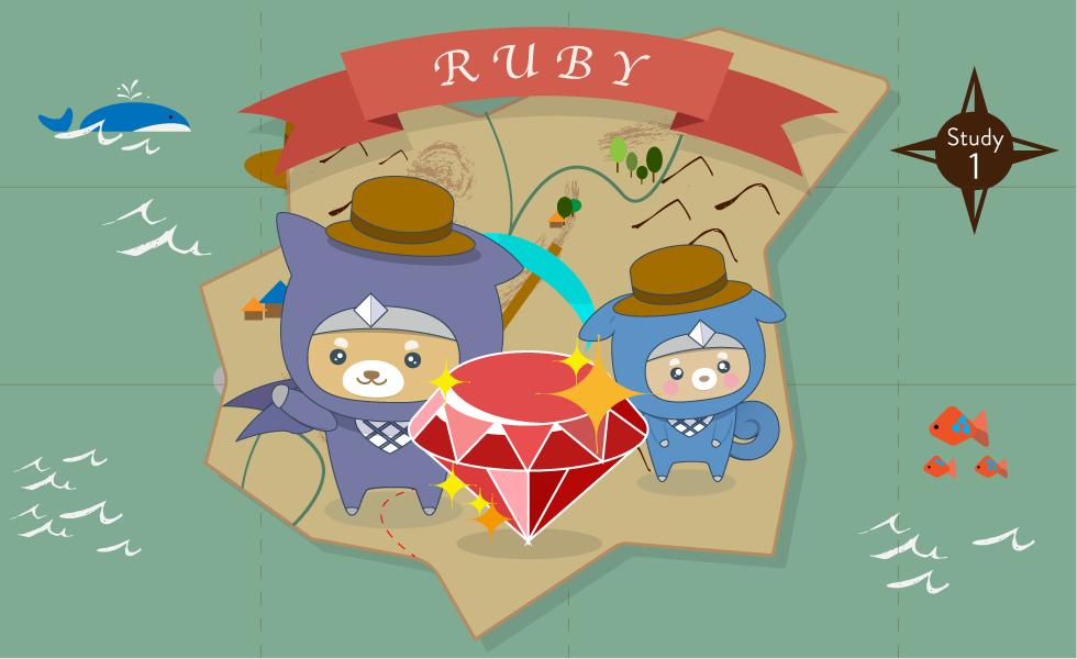 Ruby | Progate - Learn to code, learn to be creative